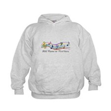 Personalized Rainbow Musical Hoodie