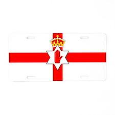 Northern Ireland Boxing Aluminum License Plate