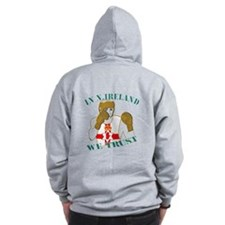 Northern Ireland Boxing Zip Hoodie
