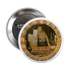 """Eastman News/The Penny Shop 2.25"""" Button"""