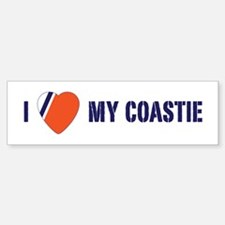 Love my Coastie Bumper Bumper Sticker