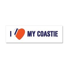 Love my Coastie Car Magnet 10 x 3