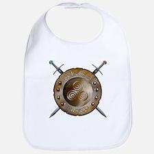 Shield and swords Bib
