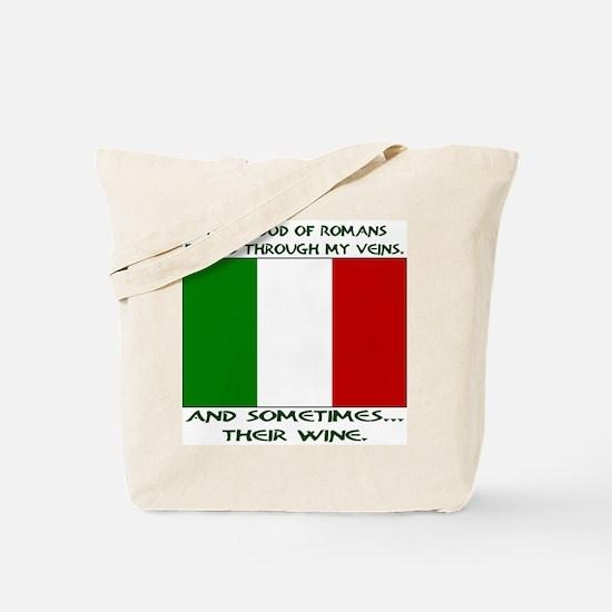 Italian Blood & Wine Tote Bag