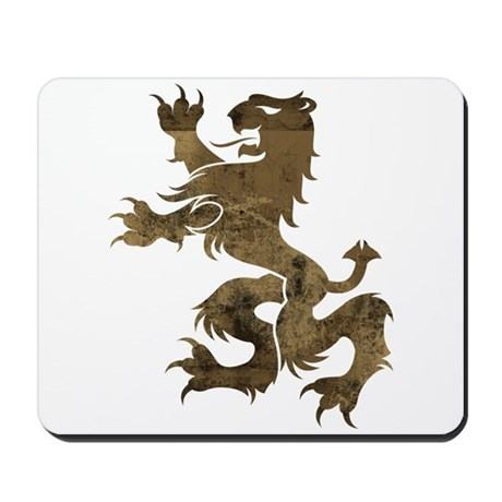 Brown Lion Mousepad