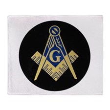 Blue Lodge S&C Throw Blanket