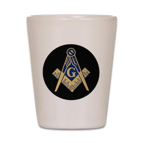 Blue Lodge S&C Shot Glass