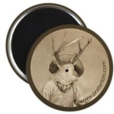 Just Jackalope Magnet