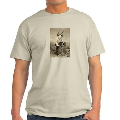 Just Jackalope Ash Grey T-Shirt