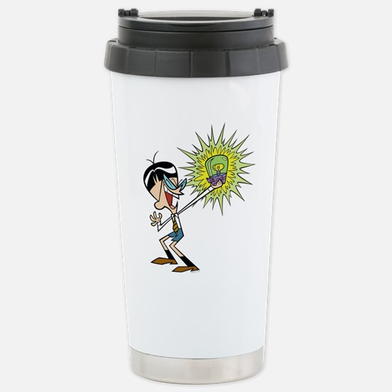 Dexter's Laboratory Stainless Steel Travel Mug