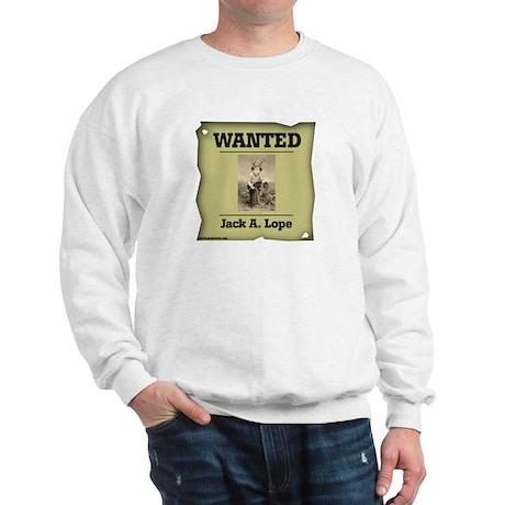 WANTED: Jack A. Lope Sweatshirt