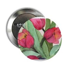 """Tulips 2.25"""" Button (10 pack)"""