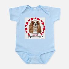 Cavalier Hearts Infant Bodysuit
