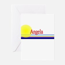 Angela Greeting Cards (Pk of 10)