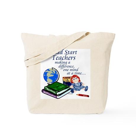 Head Start Canvas Tote Bag