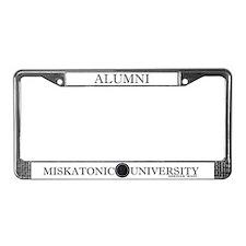 Miskatonic University License Plate Frame