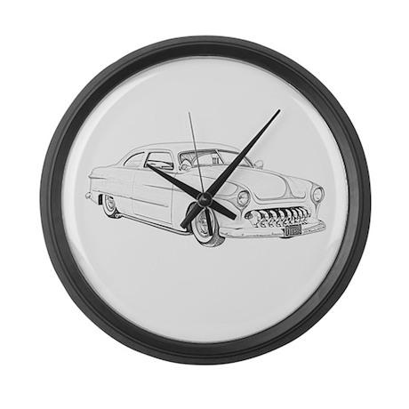 1950 Ford Custom Large Wall Clock