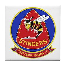 VFA 113 Stingers Tile Coaster