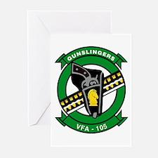 VFA 105 Gunslingers Greeting Cards (Pk of 10)