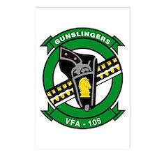 VFA 105 Gunslingers Postcards (Package of 8)