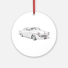 1950 Ford Custom Ornament (Round)