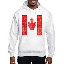 Vintage Canadian Flag Hoodie