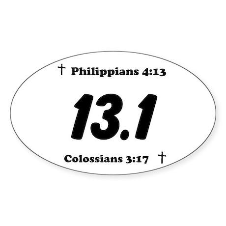 Christian 13.1 Sticker