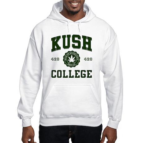 KUSH COLLEGE-2 Hooded Sweatshirt