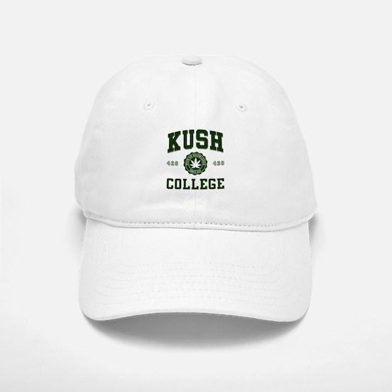 KUSH COLLEGE-2 Baseball Baseball Cap