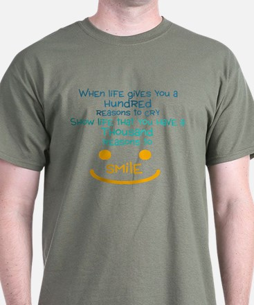 A thousand reasons to smile T-Shirt