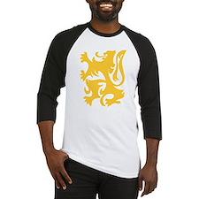 Lion of Flanders (Gold) Baseball Jersey
