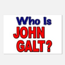 Who Is John Galt? Postcards (Package of 8)