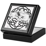 Celtic handfasting Square Keepsake Boxes
