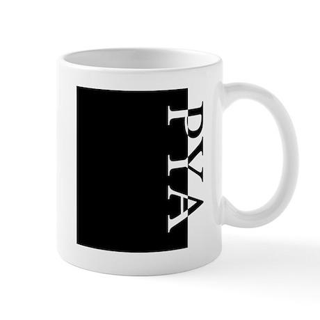 PYA Typography Mug