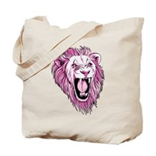 Funny Lion Tote Bag