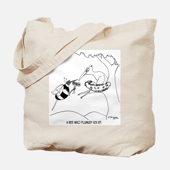 Bee Flunks Sex Ed Tote Bag