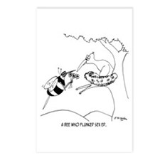 Bee Flunks Sex Ed Postcards (Package of 8)