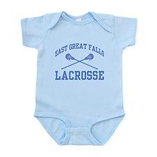 East Great Falls Lacrosse Infant Bodysuit