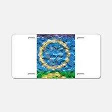 Heavenly Blue Aluminum License Plate