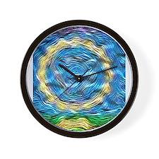 Heavenly Blue Wall Clock