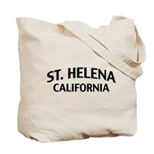 St. Helena California Tote Bag