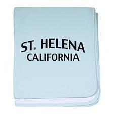 St. Helena California baby blanket