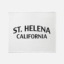 St. Helena California Throw Blanket