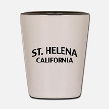 St. Helena California Shot Glass