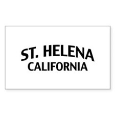 St. Helena California Decal