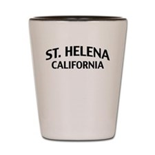 St. Helena California Shot Glass