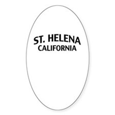 St. Helena California Decal