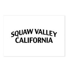 Squaw Valley California Postcards (Package of 8)