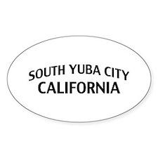 South Yuba City California Decal