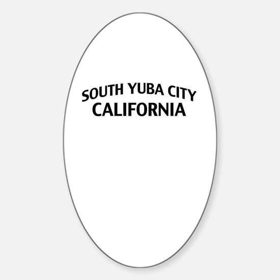 South Yuba City California Sticker (Oval)